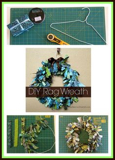 How To Make a Rag Wreath | Play 2 Learn with Sarah