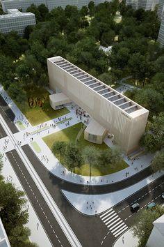The New #Bauhaus Museum. #Architecture