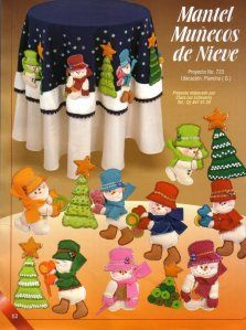 Album Archive - 193 Natal Pano Lency - Creando Ideas n. Book Crafts, Diy And Crafts, Christmas Crafts, Christmas Decorations, Craft Books, Christmas 2016, Merry Christmas, Felt Stocking, Mini Chandelier
