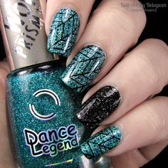 Nail Art by Belegwen: #dancelegend Holy Diver and Steel Panther