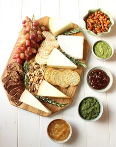 I went to a friends party and brought this wonderful spread of cheese, crackers, nuts, grapes and spreads and it was a big hit. There are so many different things you can add or subtract to persona...