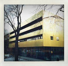 """The golden house"", Vasaparken, Stockholm, Sweden."