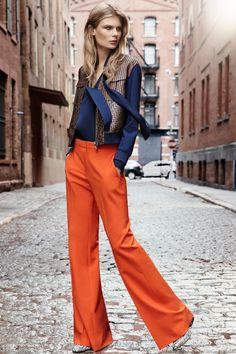 Diane von Furstenberg - Pre Autumn/Winter Ready-To-Wear New York Fashion Week Fall Fashion 2016, Fashion Mode, New York Fashion, Love Fashion, Fashion News, High Fashion, Fashion Show, Autumn Fashion, Fashion Trends