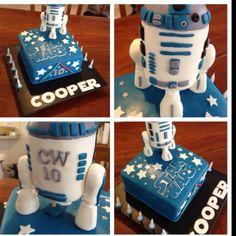 Star Wars Marble Mud Cake