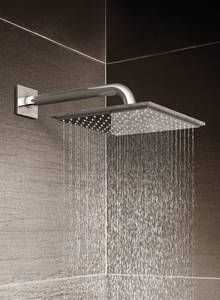 Allure Brilliant Thermostatic shower by GROHE - wall mounted Rainshower.