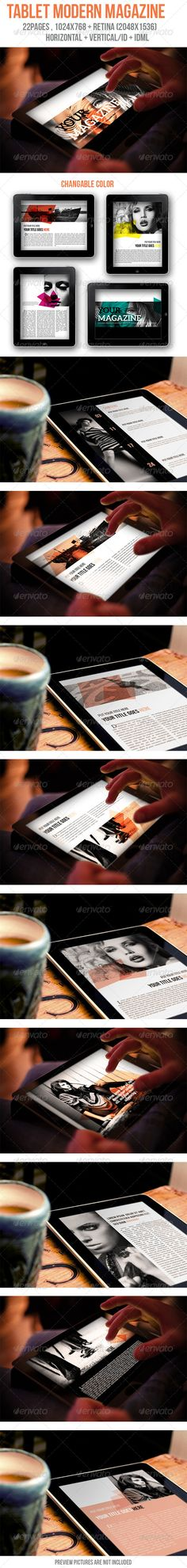 Tablet Modern Magazine - Digital Magazines ePublishing