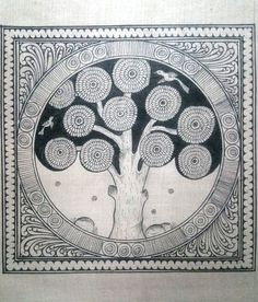 Tree Of Life Pattachitra Katha Tree of life Pattachitra Painting Canvas Small Square Folk Art of Odisha Madhubani Art, Madhubani Painting, Tree Of Life Art, Tree Art, Simple Cartoon Characters, African Art Paintings, Canvas Online, Indian Folk Art, Painting Canvas