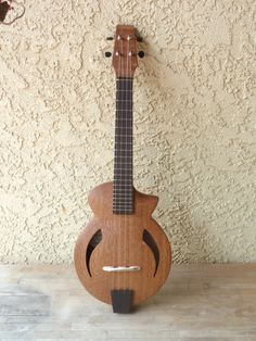 David Iriguci Archtop Concert #LardysUkuleleOfTheDay ~ https://www.pinterest.com/lardyfatboy/lardys-ukulele-of-the-day/ ~