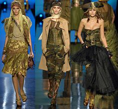 Pirate fashion - Jean Paul Gaultier