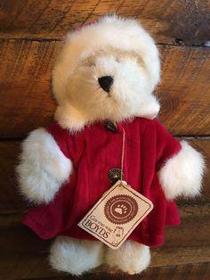 "Boyds Bears BRIANA BEARLOV 8"" Plush #94592POG TJs Best Dressed Collection #Boyds"