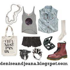 I like that denim vest That Look, Vest, Denim, My Style, Girls, How To Wear, Image, Fashion, Toddler Girls