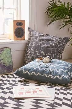 4040 Locust Tyler Radial Dye Oversized Pillow from Urban Outfitters. Shop more products from Urban Outfitters on Wanelo. My Room, Dorm Room, Oversized Pillows, Interior And Exterior, Interior Design, Boho Bedding, Pillow Room, Dream Apartment, Floor Cushions