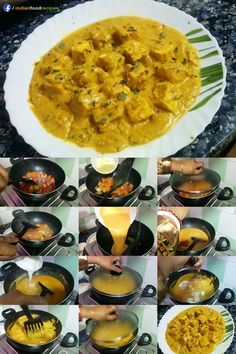 Shahi Paneer is a very special item of all paneer recipes. Shahi Paneer Recipe Punjabi Dhaba Style recipe step by step, its authentic recipe. Vegetarian Cooking, Easy Cooking, Vegetarian Recipes, Cooking Recipes, Cooking Ideas, North Indian Recipes, Indian Food Recipes, Punjabi Recipes, Easy Paneer Recipes
