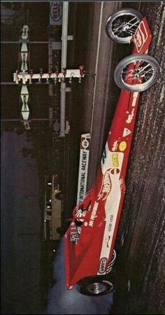 (°!°) Don Prudhomme Top Fuel wedge dragster