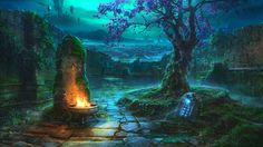 http://www.deviantart.com/art/magic-stone-594941937