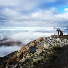 Up in the clouds! This is El Mirador (view point) located in La Rumorosa Explore #BajaCalifornia today! Adventure by Aldodanyel