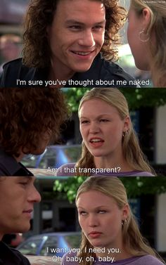 10 Things I Hate About You. Oh my GOD I love this movieeee!!!