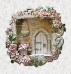 3D Filigree Shadow Box - Button-It & Craftwood Creations