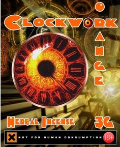 Clockwork Orange - Best Herbal Incense. www.incenseandchemicals.com