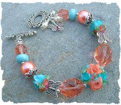 Artbeads.com Jewelry Design Star Round 14 Winner - Dhea Powers - Coral Rose