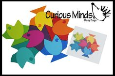 Fish Tessellation Patterns Learning by CuriousMindsBusyBags