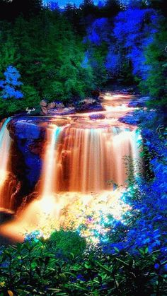 Very beautiful picture good work thanks for sharing layrue American grandma happy birthday friend share different making world better place God bless you layrue American grandma happy birthday friend and wonderful day Beautiful Gif, Beautiful World, Beautiful Places, Beautiful Waterfalls, Beautiful Landscapes, Nature Wallpaper, Mobile Wallpaper, Science And Nature, Nature Gif