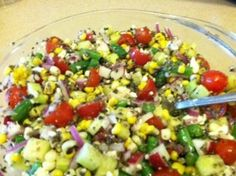 Healthiest most delicious summer salad. Did I mention easy, too?