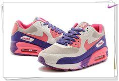 huge selection of 560da 11ede Very Cheap Gray Purple Pink 599249-403 Nike Air Max 90 HYP PRM XGOUSN Purple