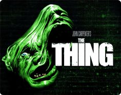 John Carpenter's The Thing Steelbook (Region Free): Movies & TV