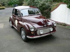 A classic, yet modified, Morris Minor 1000!