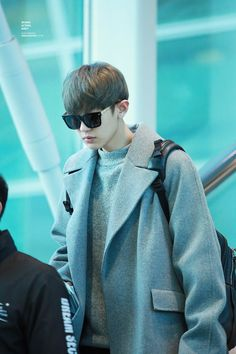Chanyeol | 160123 Incheon Airport departing for Manila