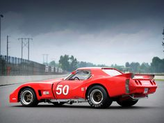 1977 Greenwood Chevrolet Corvette IMSA Racing Coupe (C3)