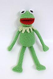 Ravelry: Kermit the Frog crochet pattern pattern by Paula Gee