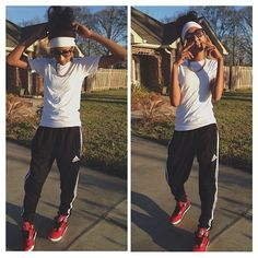 Pretty Girl Swag Lazy Day Outfit  |@aniyahope|