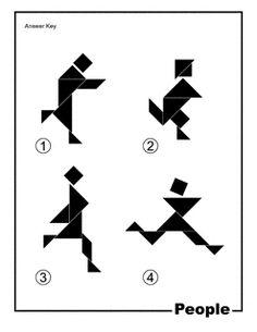 tangram | spiele | legespiele, spiele und kinderseiten