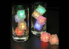 Party Favor Ice Cube Light (12 Pieces)