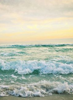 Let's go to the beach :)) #Beach #Wave #Ocean #View