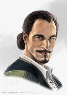 Veture-Captain Brackett by MiguelRegodon.deviantart.com on @DeviantArt