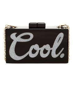 Cool Box Acrylic Clutch from The Shopping Bag