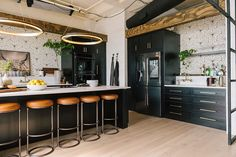 Tour the Queer Eye loft space in Kansas City outfitted exclusively by West Elm. West Elm, Kansas City Apartments, Loft Apartments, Kitchen And Bath, Kitchen Decor, Loft Kitchen, Kitchen Ideas, Casa Loft, Style Loft
