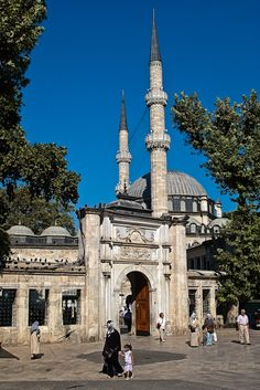 Eyüp Sultan Camii - Istanbul. Our tips for things to do in Istanbul: http://www.europealacarte.co.uk/blog/2011/03/08/things-to-do-istanbul/