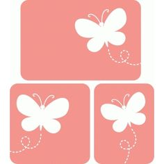 Silhouette Design Store - View Design #56064: butterfly cards