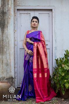 Milan offers a wide variety of Designer, Bridal & Wedding Sarees Online Kochi, Kerala, India. Indian Sarees, Silk Sarees, Saris, Kanchipuram Saree Wedding, Bridal Sarees, Engagement Saree, Wedding Sarees Online, Saree Blouse Designs, Blouse Patterns