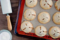 Salted Caramel Apple Hand Pies - The Kitchen McCabe
