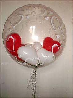 Ballons im Ballon