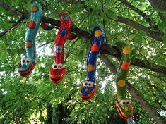 Ceramic Pottery, Ceramic Art, Cerámica Ideas, Pottery Animals, Garden Animals, Animal Sculptures, Garden Crafts, Clay Projects, Yard Art