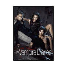 "Custom Blanket 80""x58"" The Vampire Diaries 375892"
