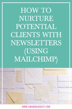 How to use email marketing to nurture potential clients. Grow your coach business with Mailchimp newsletters. Testdrive a auto responder Mailing Boss free for 7 days