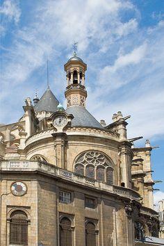 Quartier des Halles, Eglise Saint-Eustache