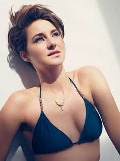 Shailene Woodley  -  Seriously?! Every time I see her I am so temped to cut all my hair off; she is flawless